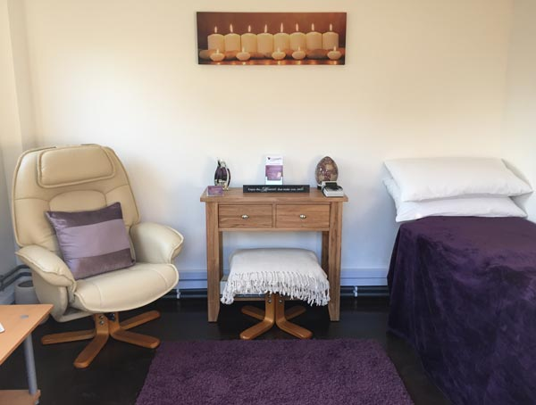 Kim Dyke's Hypnotherapy treatment rooms